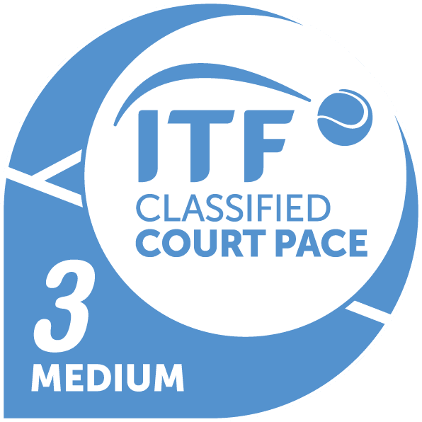 itf classified court pace 3medium colour